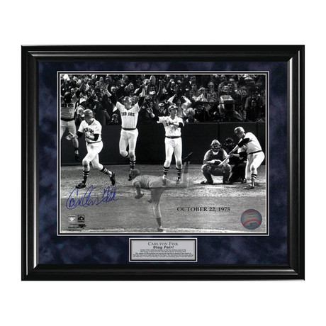 Carlton Fisk // Framed // Signed