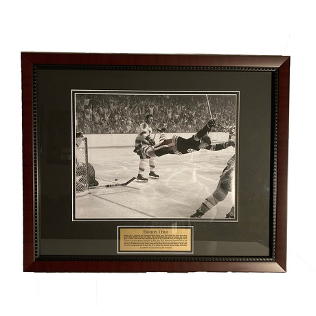 Bobby Orr // Framed // Unsigned