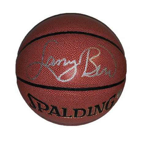 Larry Bird // Spalding Basketball // Signed