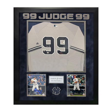 Aaron Judge // New York Yankees Jersey // Framed // Signed