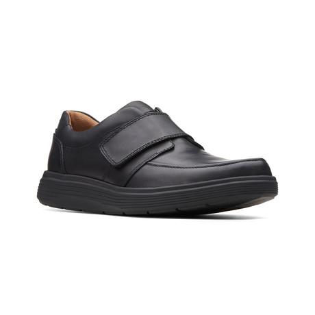 Clarks Unstructured // Un Abode Strap // Black Leather (US: 7)