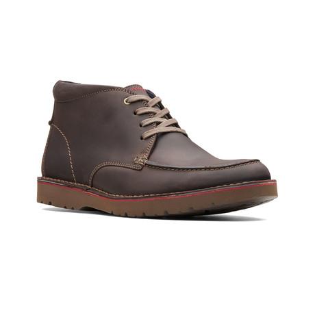 Clarks Collection // Vargo Rise // Dark Brown Leather (US: 7)