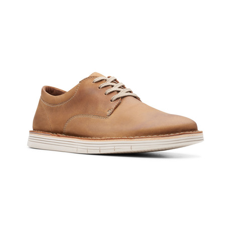 Clarks Collection // Forge Plain // Tan Leather (US: 7)