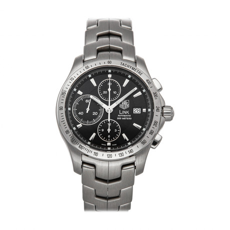 Tag Heuer Link Chronograph Automatic // CJF2110.BA0576 // Pre-Owned