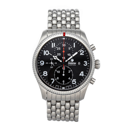 Tutima Grand Flieger Chronograph Automatic // 6402-02 // Pre-Owned