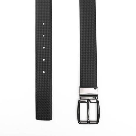 """Keon Men's Leather Belt // Black // 41"""""""