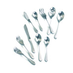 Matte Flatware // 45 Piece Set