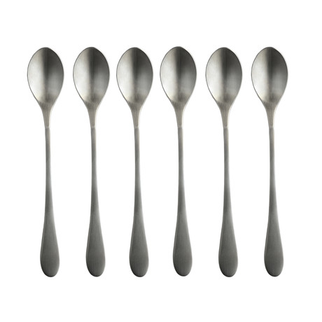 Iced Teaspoon // Set of 6 // Original Handle (Matte)