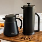 Lafeeca // Thermal Coffee Carafe Tea Pot (Black)