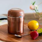 Lafeeca // Thermos Food Jar // 17 oz (Black)