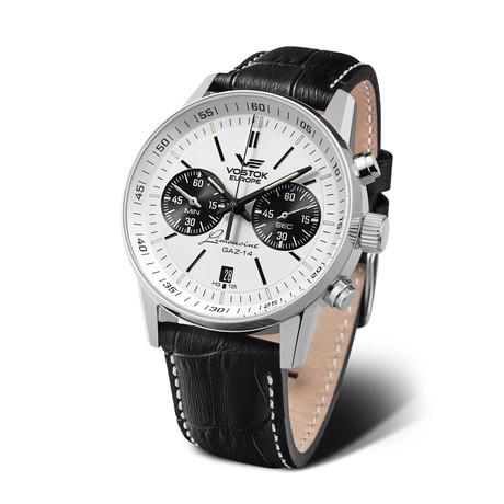 Vostok-Europe Watch Gaz Limo Tritium Chronograph 6S21-565A598