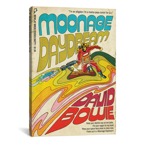 "Moonage Daydream // Todd Alcott (26""W x 40""H x 1.5""D)"