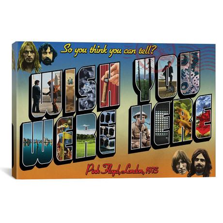 "Wish You Were Here // Todd Alcott (40""W x 26""H x 1.5""D)"