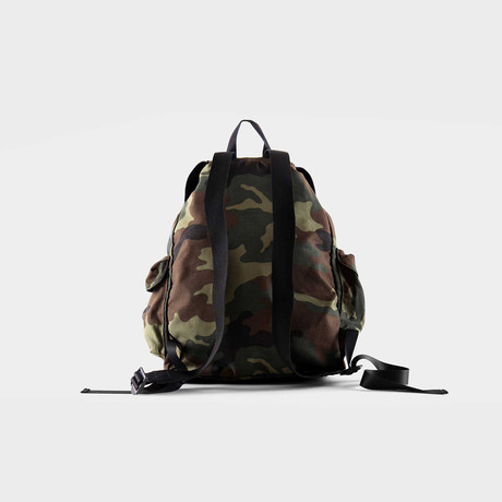 Bohemian Backpack // Camouflage