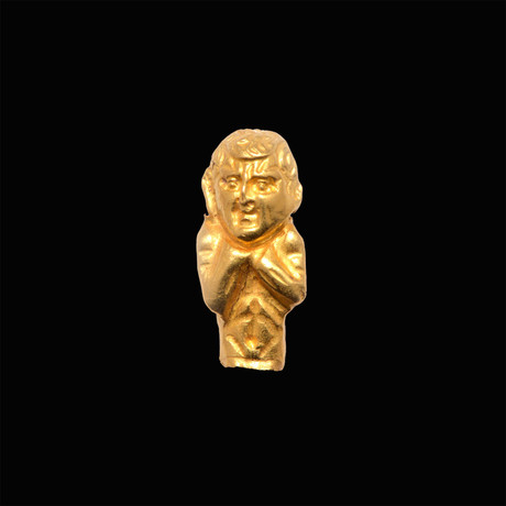 An Egyptian Gold Amulet, Roman Imperial Period, Ca. 1st - 2nd Century CE