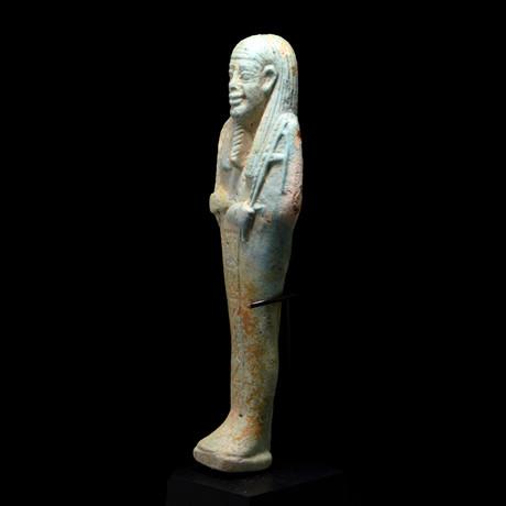 An Egyptian Ushabti For The Overseer Of The Army Horkhebi, 26Th Dynasty, Ca. 664 -525 BCE
