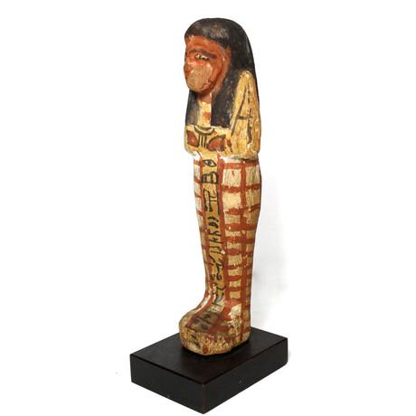 A Good Egyptian Wood Shabti For Khaemwaset, 20Th Dynasty, Ca. 1187 - 1069 BCE