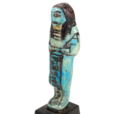An Egyptian Overseer Shabti For The Songstress Of Amun, Ta-Udjat-Re, 19Th Dynasty,  Ca. 1069 - 945 BCE