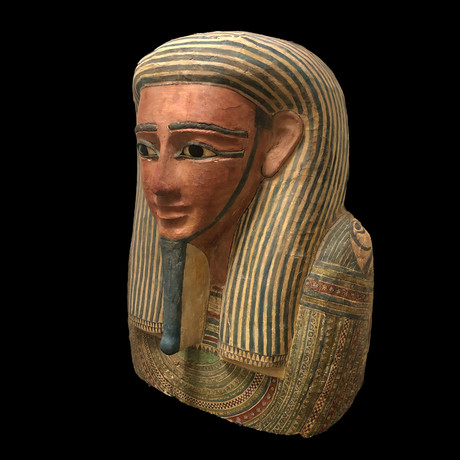 An Egyptian Upper Coffin Lid, Late Period, 26Th Dynasty, Ca. 664 - 525 BC