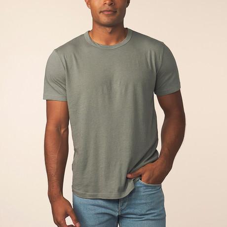 Cashmere Blend Short-Sleeve Tee // Kenji (S)