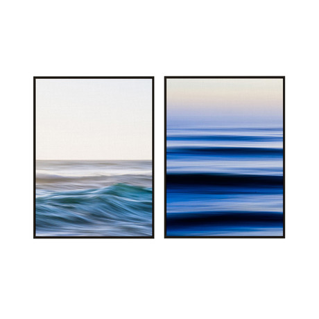 1-4-3 Sets by Quinn Saine // Small // Set of 2 (Black Frame)
