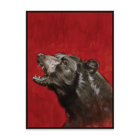 Black Bear by Kenny Eicher // Small (Black Frame)