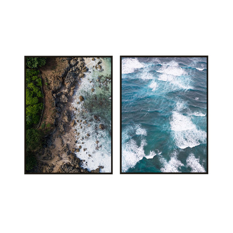 Bird's Eye View by JB Jakubek // Small // Set of 2 (Black Frame)