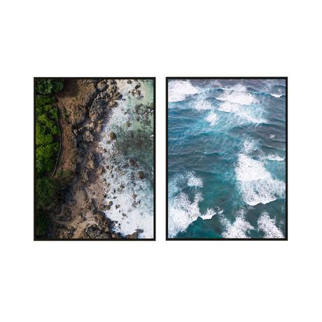 Bird's Eye View by JB Jakubek // Small // Set of 2 (Black Frame)