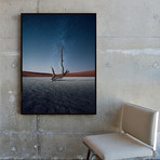 Desert of the Dead by Samir Belhamra // Medium (Black Frame)