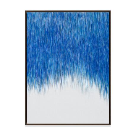 A Line is a Line (Number 5) by Cintia Garcia // Medium (Black Frame)