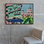 Beverly Hills Hotel by Sophie Mazarro // Medium (Black Frame)
