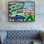 Beverly Hills Hotel by Sophie Mazarro // Small (Black Frame)