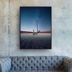 Desert of the Dead by Samir Belhamra // Small (Black Frame)
