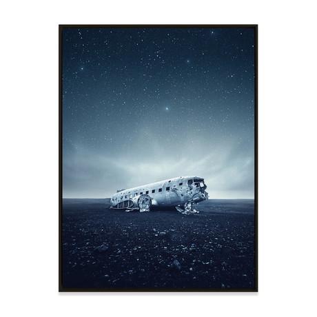 Flying Solo by Samir Belhamra // Small (Black Frame)