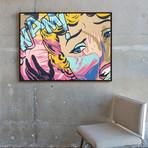 Face It by Phoebe Joynt // Medium (Black Frame)