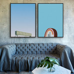 Griffith Park by Jonathan Schute // Small // Set of 2 (Black Frame)
