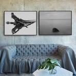 Lone Retreat by Chris Murray // Medium // Set of 2 (Black Frame)