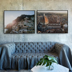 Italy's Jewels by JB Jakubek // Small // Set of 2 (Black Frame)