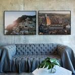 Italy's Jewels by JB Jakubek // Medium // Set of 2 (Black Frame)