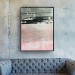 Pink Sands by Yasemen Asad // Small (Black Frame)