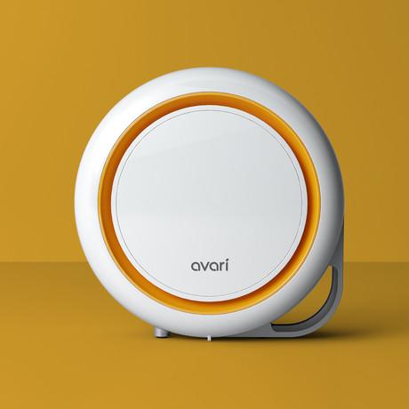 Avari 500 Electrostatic Air Purifier // Orange