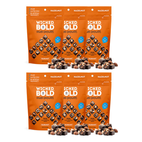 BOLD Dark Hazelnut // Pack of 6