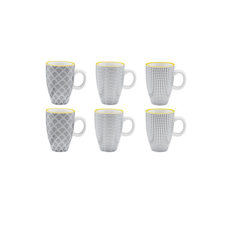 Eclipse Collection // Coffee Cup // Set of 6 (Dune)