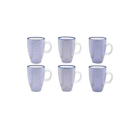 Dark Collection // Coffee Cup // Set of 6 (Variety)