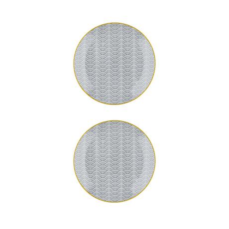 "Eclipse Collection // 8.3""Ø Dessert Plate // Set of 2 (Dune)"