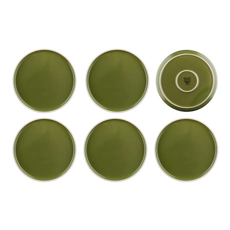 "Origin // 10.4""Ø Plate // Set of 6 (Argile)"