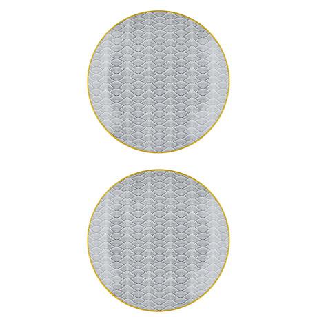 "Eclipse Collection // 10.2""Ø Dessert Plate // Set of 2 (Dune)"