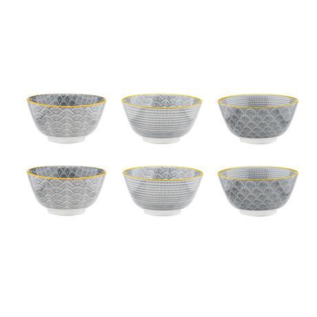 "Eclipse Collection // Bowl // Set of 6 (Appetizer Bowl Ø4.7"")"