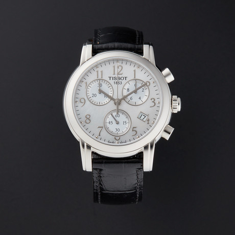 Tissot Ladies Dressport Chronograph Quartz // T050.217.16.112.00 // Pre-Owned