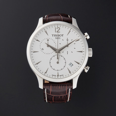 Tissot Tradition Chronograph Quartz // T063.617.16.037.00 // Pre-Owned